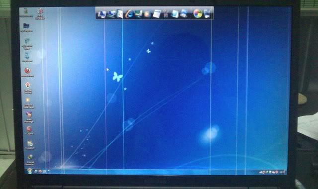 Lỗi sọc màn hình laptop